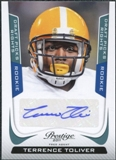 2011 Panini Prestige Draft Picks Rights Autographs #295 Terrence Toliver /1499
