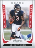 2011 Panini Prestige Xtra Points Red #37 Johnny Knox /100