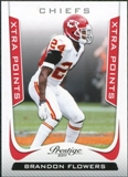 2011 Panini Prestige Xtra Points Red #95 Brandon Flowers /100