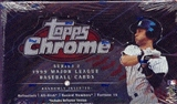 1999 Topps Chrome Series 2 Baseball Retail Box
