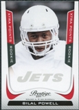 2011 Panini Prestige Xtra Points Red #209 Bilal Powell /100