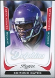 2011 Panini Prestige Xtra Points Red #239 Edmond Gates /100