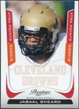 2011 Panini Prestige Xtra Points Red #245 Jabaal Sheard /100