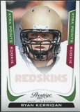 2011 Panini Prestige Xtra Points Green #285 Ryan Kerrigan /25