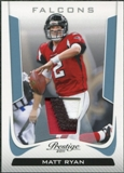2011 Panini Prestige Platinum Patches #8 Matt Ryan
