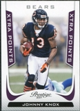2011 Panini Prestige Xtra Points Purple #37 Johnny Knox /50