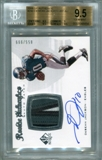 2008 SP Authentic #290 Desean Jackson Rookie Patch Autograph BGS 9.5 Gem Mint 1/8