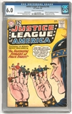 Justice League of America #10 CGC 6.0 (C-OW) *1211301002*
