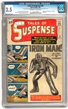 Tales of Suspense #39 CGC 2.5 (OW-W) *1211312004*