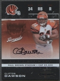 2007 Playoff Contenders #130 Clifton Dawson Rookie Auto