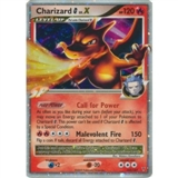 Pokemon Supreme Victors Single Charizard lv. X 143/147 - MODERATE PLAY (MP)
