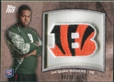 2011 Topps Rising Rookies Rookie Team Patches #RTPDB Da'Quan Bowers /1074