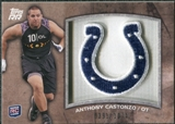 2011 Topps Rising Rookies Rookie Team Patches #RTPACA Anthony Castonzo /1074