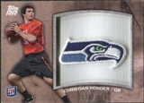 2011 Topps Rising Rookies Rookie Team Patches #RTPCP Christian Ponder /1074