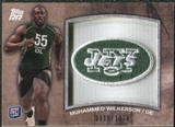 2011 Topps Rising Rookies Rookie Team Patches #RTPMW Muhammad Wilkerson /1074