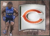2011 Topps Rising Rookies Rookie Team Patches #RTPAW Aaron Williams /1074