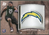 2011 Topps Rising Rookies Rookie Team Patches #RTPCJ Cameron Jordan /1074