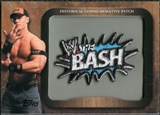 2009 Topps WWE Historical Commemorative Patch #P2 The Bash/John Cena