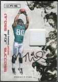 2009 Donruss Rookies and Stars Dress for Success Jerseys Prime Autographs #30 Mike Thomas /10