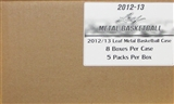 2013 Leaf Metal Basketball Hobby 8-Box Case + FREE DAMIAN LILLARD AUTO RC!
