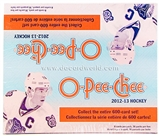 2012/13 Upper Deck O-Pee-Chee Hockey Retail 36-Pack Box