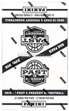 2012/13 Panini Past & Present Basketball Rack Pack Box