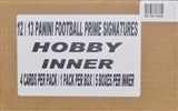 2012 Panini Prime Signatures Football Hobby 5-Box Case