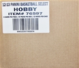 2012/13 Panini Select Basketball Hobby 12-Box Case