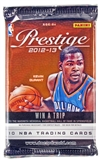 2012/13 Panini Prestige Basketball Retail 24-Pack Lot