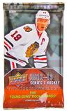 2012/13 Upper Deck Series 1 Hockey Hobby Pack