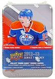 2012/13 Upper Deck Series 1 Hockey 12-Pack Tin (Box) (One Oversized NHL Winter Classic Card Per Tin)!