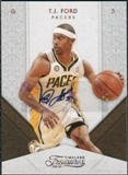 2009/10 Panini Timeless Treasures Signatures Gold #70 T.J. Ford Autograph /10