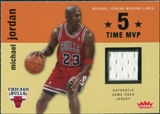 2007/08 Fleer Michael Jordan Missing Links #MJ3 Michael Jordan Jersey