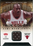 2007/08 Fleer Michael Jordan Missing Links #MJ4 Michael Jordan Jersey