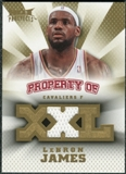 2008/09 Upper Deck Hot Prospects Property of Jerseys #POLJ LeBron James 85/199