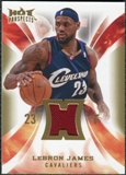 2008/09 Upper Deck Hot Prospects Hot Materials #HMLJ LeBron James