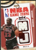 2008/09 Upper Deck Hot Prospects NBA Game Issue Jerseys Red #NBAMJ Michael Jordan /25