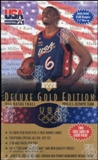 1996/97 Upper Deck USA Gold Edition Basketball 11-Pack Box (Jordan)