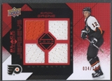 2008/09 Black Diamond #BDJSG Simon Gagne Jersey Quad Ruby #034/100