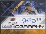 2008/09 Black Diamond #GRP Rich Peverley Gemography Auto