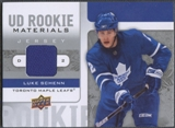 2008/09 Upper Deck #RMSC Luke Schenn Rookie Materials Jersey