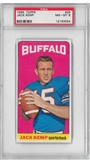 1965 Topps Football Jack Kemp PSA 8 (NM-MT) *3054