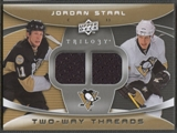 2008/09 Upper Deck Trilogy #2WJS Jordan Staal Two-Way Threads Jersey