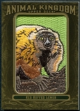 2011 Upper Deck Goodwin Champions Animal Kingdom Patches #AK90 Red Ruffed Lemur E