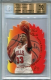1996/97 Flair Showcase Hot Shots #9 Scottie Pippen BGS 10 Pristine *8230