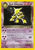 Pokemon Team Rocket 1st Edition Single Dark Alakazam 1/82