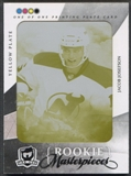 2010/11 The Cup #218 Jacob Josefson Printing Plate Artifacts Yellow #1/1