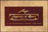 2011 Leaf Legends of Sport Baseball Hobby Box