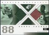 2000 Upper Deck SPx Winning Materials #WMDF Bubba Franks