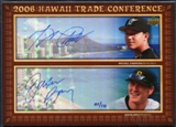 2006 Upper Deck Hawaii Trade Conference Signature Dual Jumbos #HTC2BC Jason Bay Miguel Cabrera 1/10
